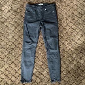 "Madewell - 9"" High Rise Skinny Jeans"